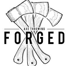 Forged Axe Throwing Logo