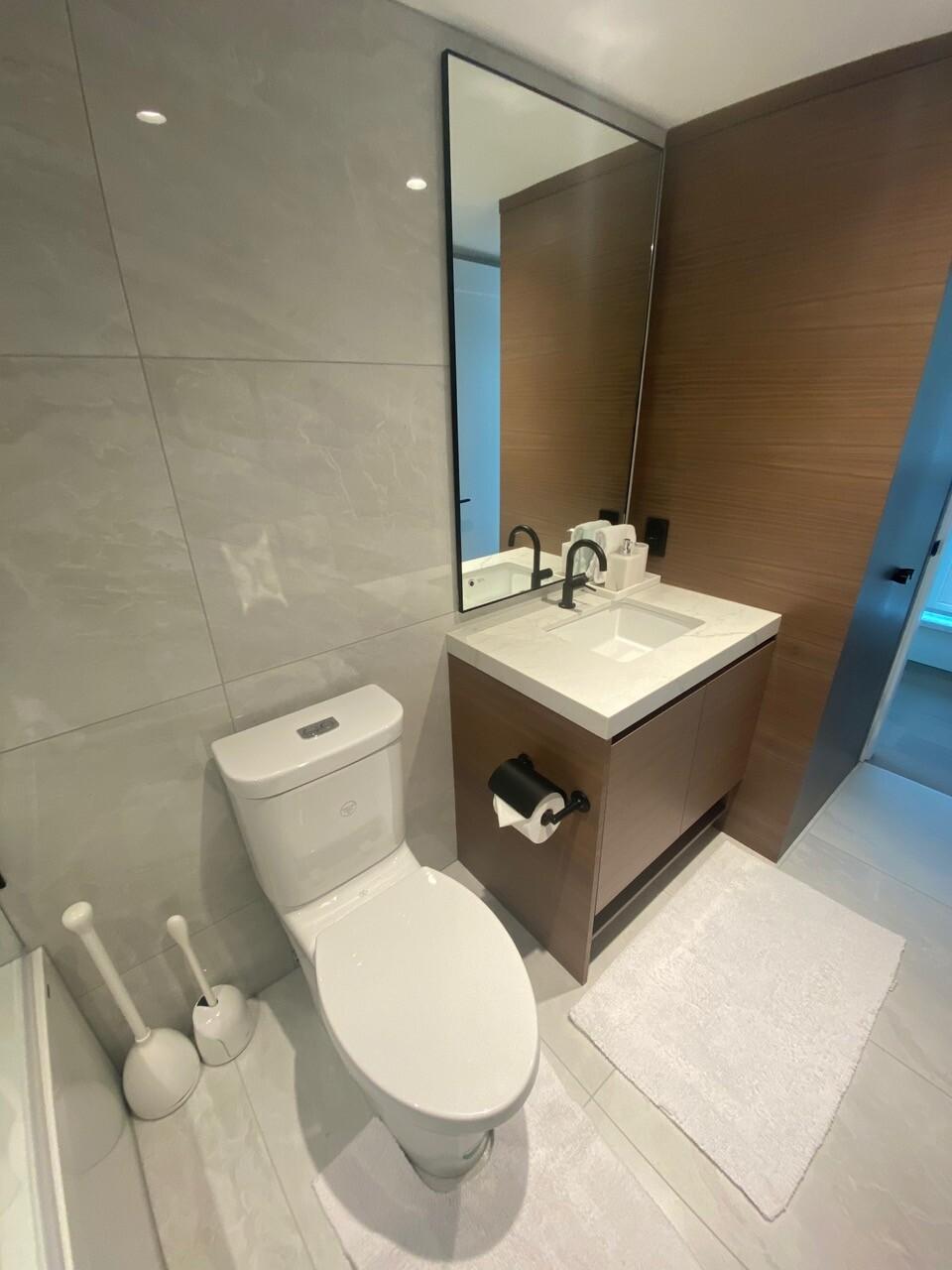 renovated modern bathroom by lee carter plumbing